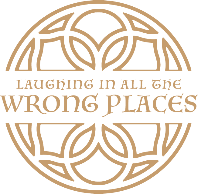Laughing in all the Wrong Places logo