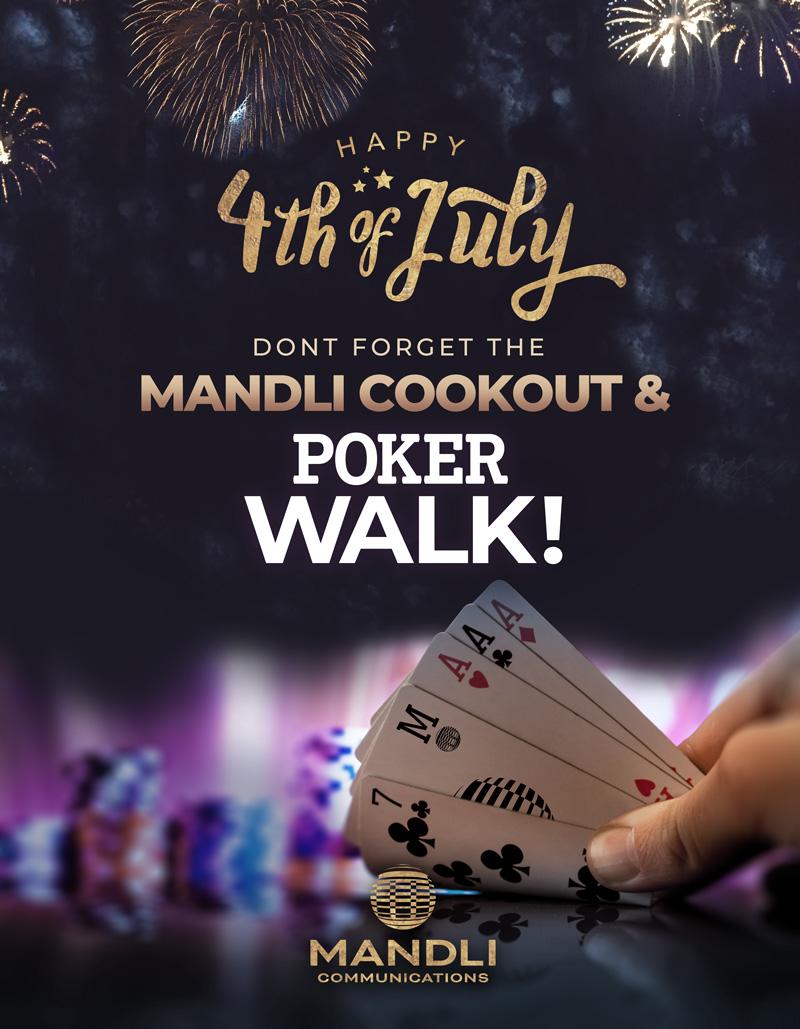 Mandli Poker Walk